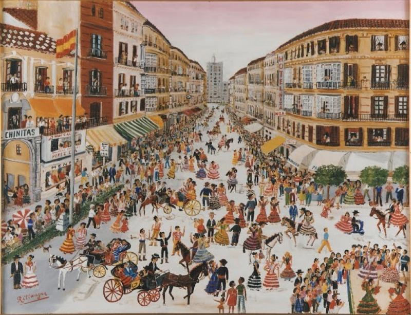 La calle Larios por Rittwagen