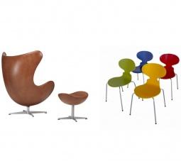 Sillas de Arne Jacobsen