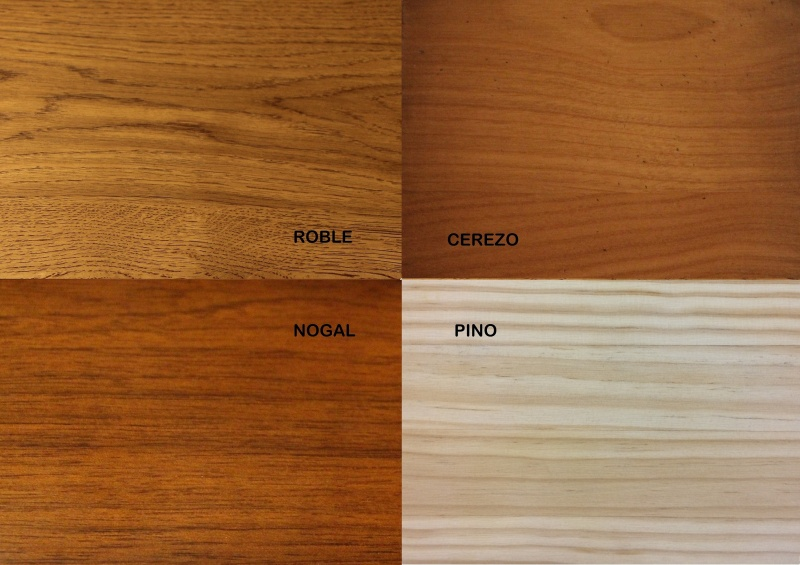 Nogal roble cerezo pino qu madera es mejor torres for Muebles de madera color nogal