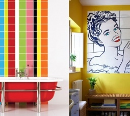 Pop Art para interiores