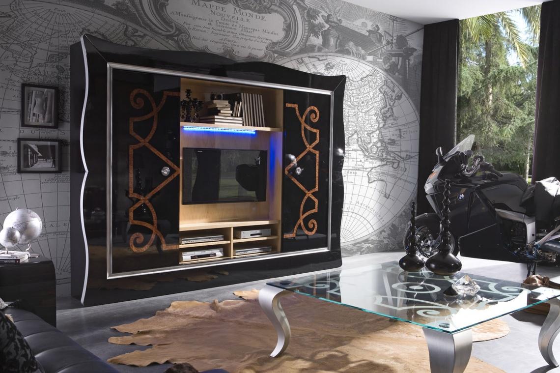 Ref 120 Mueble Lacado Alto Brillo Categor A Zona De D A Estilo  # Muebles Torres Y Gutierrez