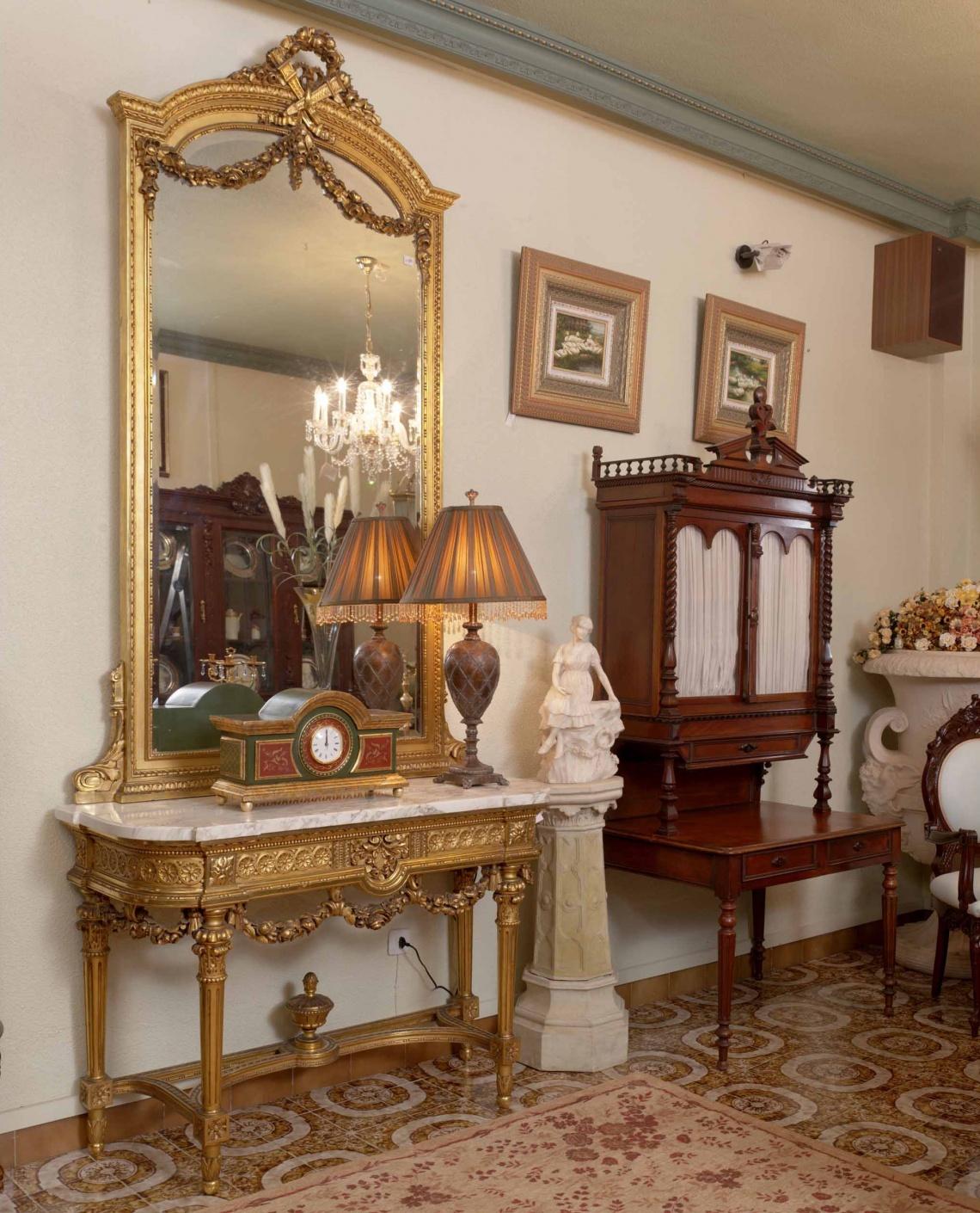 Ref 568 Consola Francesa Categor A Peque O Mobiliario Estilo  # Muebles Torres Y Gutierrez