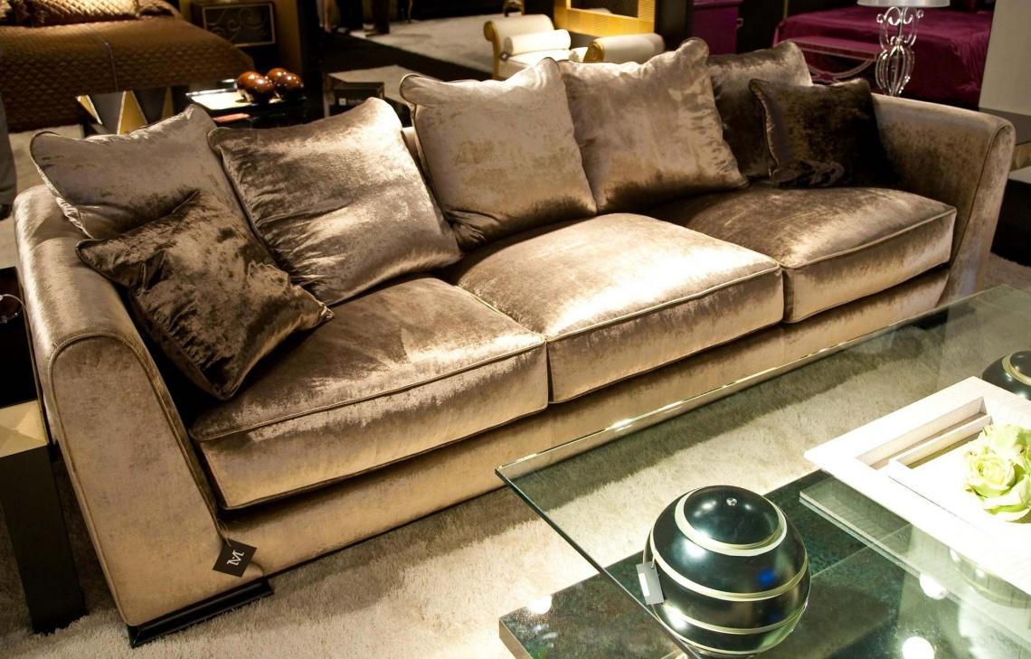 Ref 479 sofa tapizado en terciopelo categor a sof s for Sofas de estilo clasico