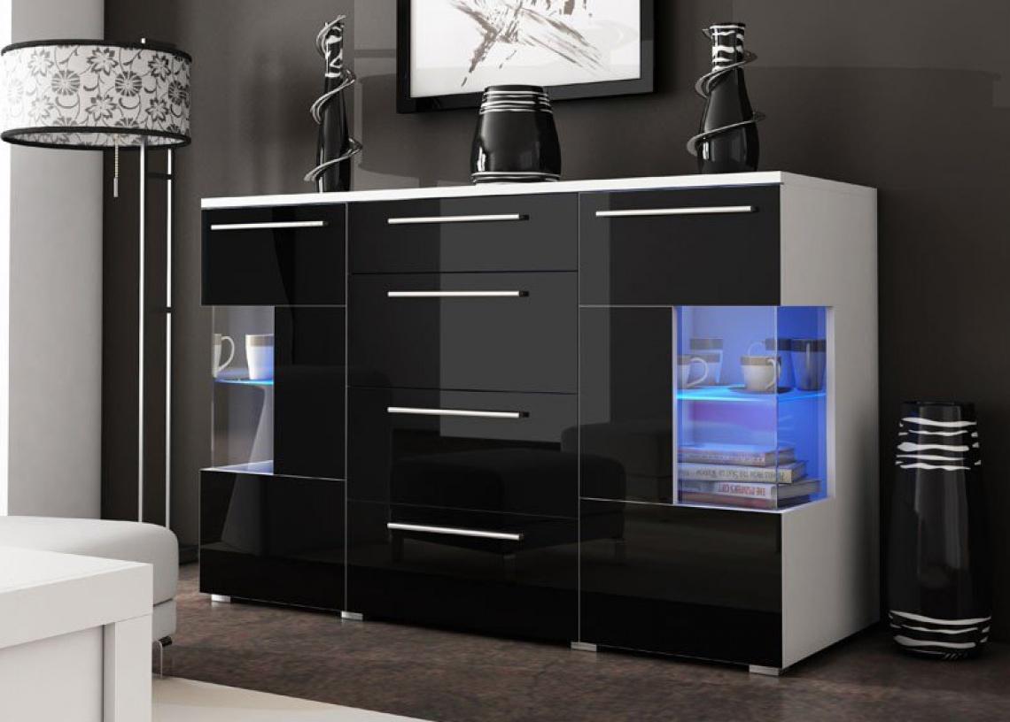 Ref 648 mueble para salon categor a zona de d a estilo for Mueble salon lacado alto brillo