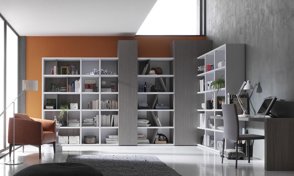 Ref 919 mueble a medida para salon categor a estudio y - Muebles las quemadas ...