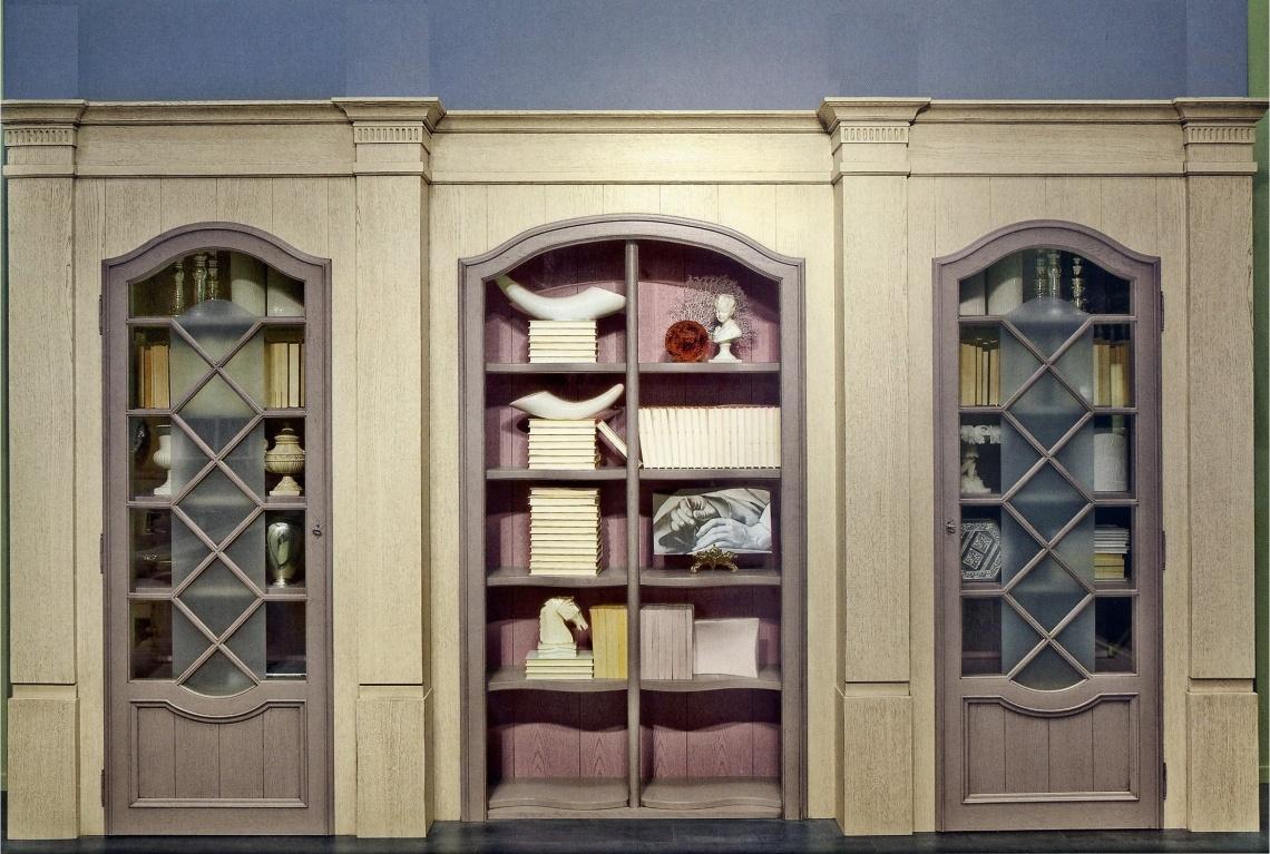 Ref 071 Biblioteca Categor A Estudio Y Biblioteca Estilo Luis  # Muebles Torres Y Gutierrez