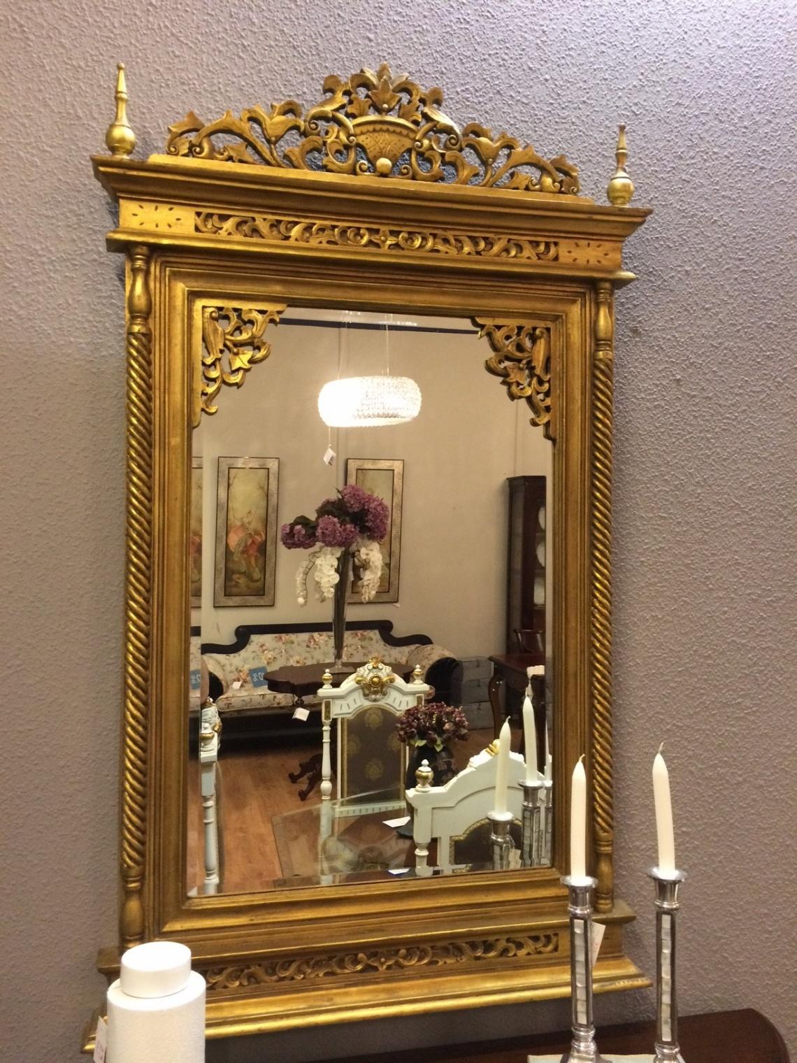 Ref 341 espejo categor a complementos estilo cl sico - Lamparas lucena ...