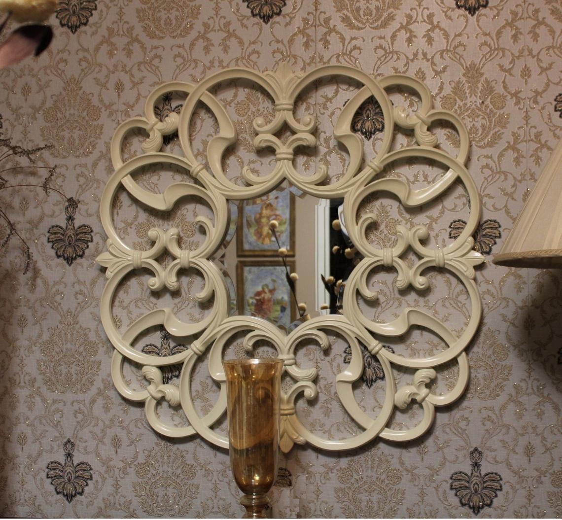 Ref 334 espejo lacado categor a l mparas y complementos estilo de poca torres y guti rrez - Lamparas lucena ...
