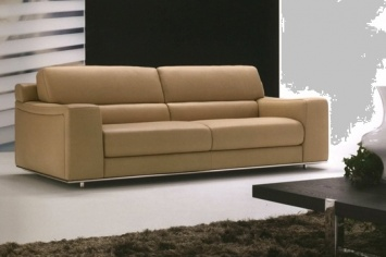 468 LEATHER SOFA