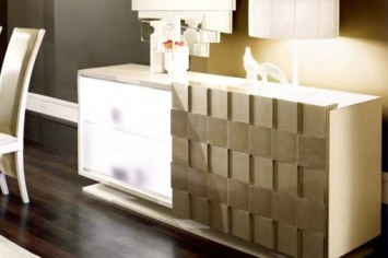 489 WHITE SIDEBOARD