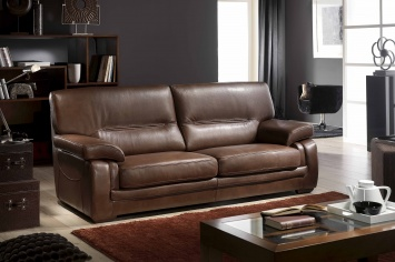 454 LEATHER SOFA