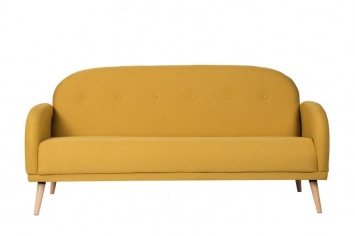 SOFA EN AMARILLO